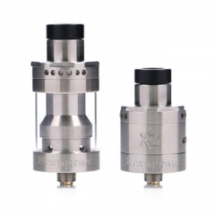 Hexagram RDTA By Thunderhead Creations (THC) 22.5mm /2.5ml - Silver