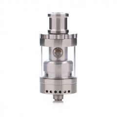 Fog Rider RTA By Thunderhead Creations (THC) 22mm/ 2.5ml - Silver