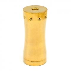 Vazzling Takeover Mini 18350 Style Hybrid Mechanical Mod 25mm w/Logo - Gold