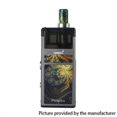 (Ships from Germany)Authentic Smoant Pasito 25W 1100mAh Mod Pod System Starter Kit 3ml - Gun Metal