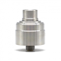 SXK Invidia Style 22mm RDA Rebuildable Dripping Atomizer w/BF Pin - Silver