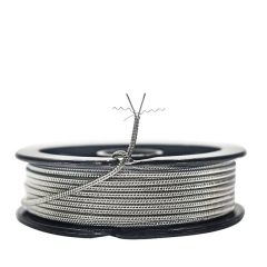 Authentic Pirate Coil NI80 Staggered Fused Clapton (26G+32G)*2+32G / 15 Feet