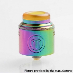 Authentic Yachtvape Meshlock 24mm RDA Rebuildable Dripping Atomizer w/ BF Pin - Rainbow
