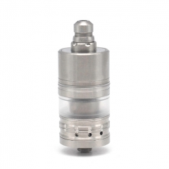 (Ships from Germany)Menelaus Style 22mm RTA Rebuildable Tank Atomizer 4ml - Silver