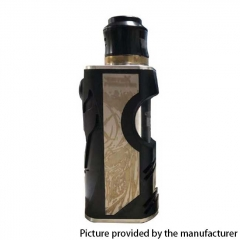 Vertex Style Hybrid 18650/20700 Mechnical Mod Kit - Black