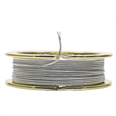 Authentic Pirate Coil Pre-Built Wire NI80 Two-Core 40GA*2+26GA - 10 Feet