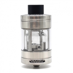 Authentic Steam Crave Glaz RTA V2 31mm Rebuildable Tank Atomizer 7ml/10ml - Silver