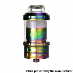 Fatality M25 Style 25mm  RTA Rebuildable Tank Atomizer 5.5ml - Rainbow