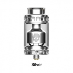 Authentic Dovpo Blotto 25.5mm RTA Rebuildable Tank Atomizer 6ml - Silver