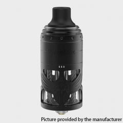 Authentic Brunhilde 23mm MTL RTA Rebuildable Tank Atomizer 5ml - Black