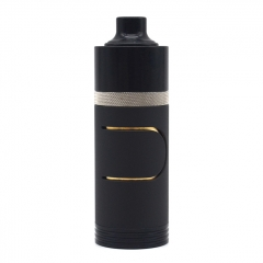 Ennequadro IMO 350 Style 18350 Mechanical Mod 22mm w/ Hydro Style RDA Kit - Black