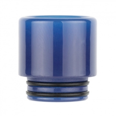 810 Replacement Resin Drip Tip Vari-colour AS221W 1pc - Blue