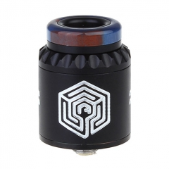 Artha V2 Style 24mm RDA Rebuildable Dripping Atomizer w/BF Pin - Black