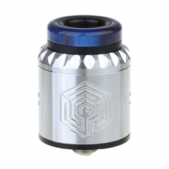 Artha V2 Style 24mm RDA Rebuildable Dripping Atomizer w/BF Pin - Silver