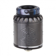 Artha V2 Style 24mm RDA Rebuildable Dripping Atomizer w/BF Pin - Gun Metal
