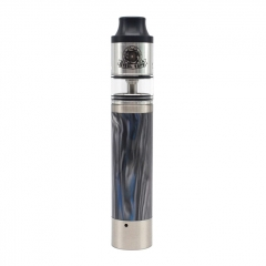 Authentic Steelvape Tailspin 18650 25mm Mechanical Mod w/RDTA 4ml - Silver