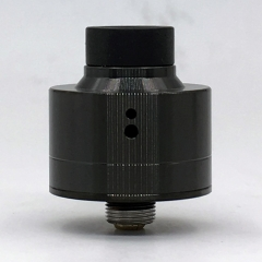 Haku Venna Style 22mm RDA Rebuildable Dripping Atomizer w/BF Pin - Black