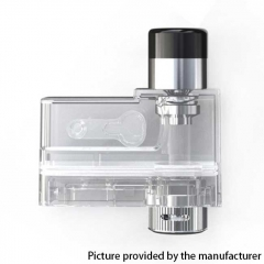 Authentic Artery PAL II Pro Pod System Replacement Empty Pod Cartridge 3ml - Transparent