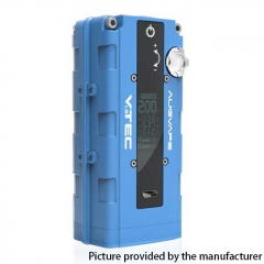 Authentic Augvape VTEC1.8 200W VV Variable Voltage Box Mod - Blue