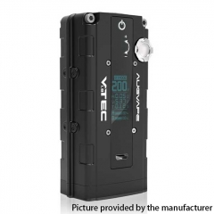 Authentic Augvape VTEC1.8 200W VV Variable Voltage Box Mod - Black