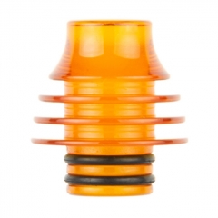 Replacement 510 Acrylic Drip Tip 8mm AS239 1pc - Orange