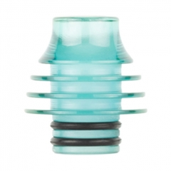Replacement 510 Acrylic Drip Tip 8mm AS239 1pc - Blue