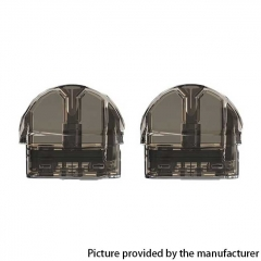 Authentic VEIIK MOOS Pod System Replacement Pod Cartridge w/ 1.2ohm Ceramic Coil 2ml 2pcs - Black