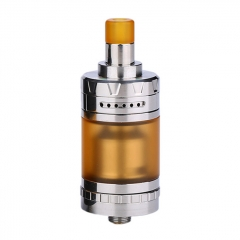 Authentic eXvape eXpromizer V4 MTL 23mm RTA Rebuildable Tank Atomizer 2ml - Polished Silver