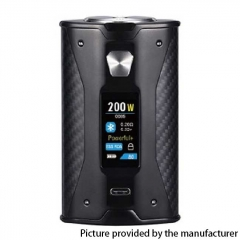 Authentic YiHi SXmini X Class 200W TC VW Variable Wattage Box Mod 18650 - Black Kevlar