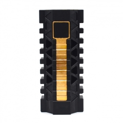 (Ships from Germany)M4H1 Style 18650/20700/21700 Mechanical Mod - Black