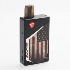 Authentic Rincoe Tix 20W 1000mAh Pod System Starter Kit 2ml/1ohm - US Flag