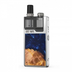 Authentic Lost Vape Orion Plus 22W DNA Pod System Kit 950mAh 2ml/0.25ohm/0.5ohm - Silver Stabwood