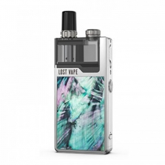Authentic Lost Vape Orion Plus 22W DNA Pod System Kit 950mAh 2ml/0.25ohm/0.5ohm - Silver-Ocean Scallop