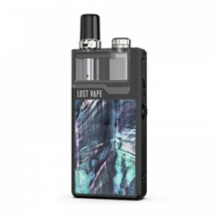 Authentic Lost Vape Orion Plus 22W DNA Pod System Kit 950mAh 2ml/0.25ohm/0.5ohm - Black Ocean Scallop
