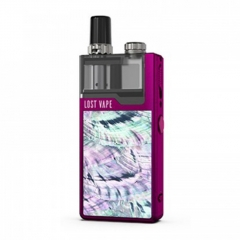 Authentic Lost Vape Orion Plus 22W DNA Pod System Kit 950mAh 2ml/0.25ohm/0.5ohm - Purple Ocean Scallop