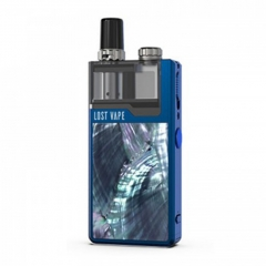 Authentic Lost Vape Orion Plus 22W DNA Pod System Kit 950mAh 2ml/0.25ohm/0.5ohm - Blue Ocean Scallop