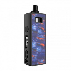 Authentic Mechlyfe Ratel 80W 18650 Rebuildable TC VW Mod Pod Kit - Resin Purple
