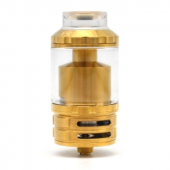 Fatality M25 Style 25mm  RTA Rebuildable Tank Atomizer 5.5ml - Gold