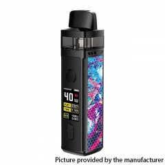 Authentic VOOPOO VINCI 40W 1500mAh VW Mod Pod System Starter Kit 5.5ml (Standard Version) - Opal