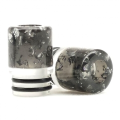 ULPS Replacement 510 Resin MTL Drip Tip 10mm - Black