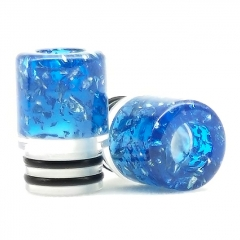 ULPS Replacement 510 Resin MTL Drip Tip 10mm - Blue