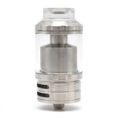Fatality M25 Style 25mm  RTA Rebuildable Tank Atomizer 5.5ml - Silver