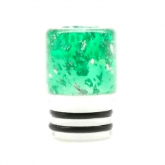 ULPS Replacement 510 Resin MTL Drip Tip 10mm - Green