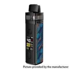 Authentic VOOPOO VINCI 40W 1500mAh VW Mod Pod System Starter Kit 5.5ml (Standard Version) - Peacock