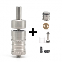 (Ships from Germany)ULTON Fev 4.5M Style RTA Rebuildable Tank Atomizer 4.5ml - Silver
