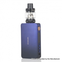 Authentic Vaporesso GEN 220W TC VW Variable Wattage Box 18650 Mod w/ SKRR-S Tank Kit 8ml - Blue