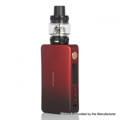 Authentic Vaporesso GEN 220W TC VW Variable Wattage Box 18650 Mod w/ SKRR-S Tank Kit 8ml - Red