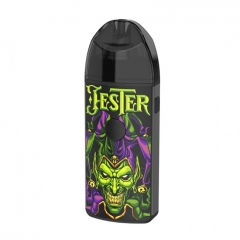 Authentic Jester 1000mAh VV Pod System Starter Kit 2ml/0.5ohm/1ohm (DIY+Mesh Edition) - Jester