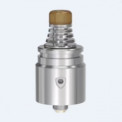 (Ships from HK)Authentic Vandy Vape Berserker V2 22mm MTL RDA w/BF Pin - Silver