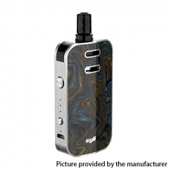 Authentic Syiko Galax 25W 1200mAh Pod System Starter Kit 2ml/0.6ohm/1.2ohm - Placer
